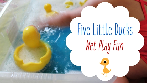 Five Little Ducks Game Wet Play